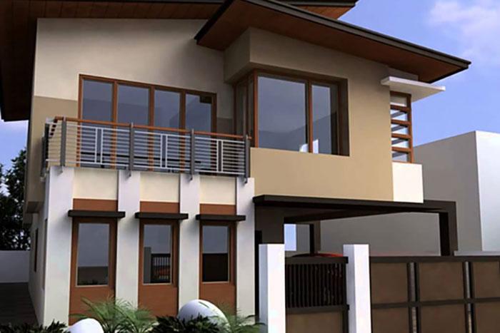 Cách phối sơn nhà màu Nâu đẹp & Ý nghĩa của màu Nâu - Kiến Thức Sơn Nước