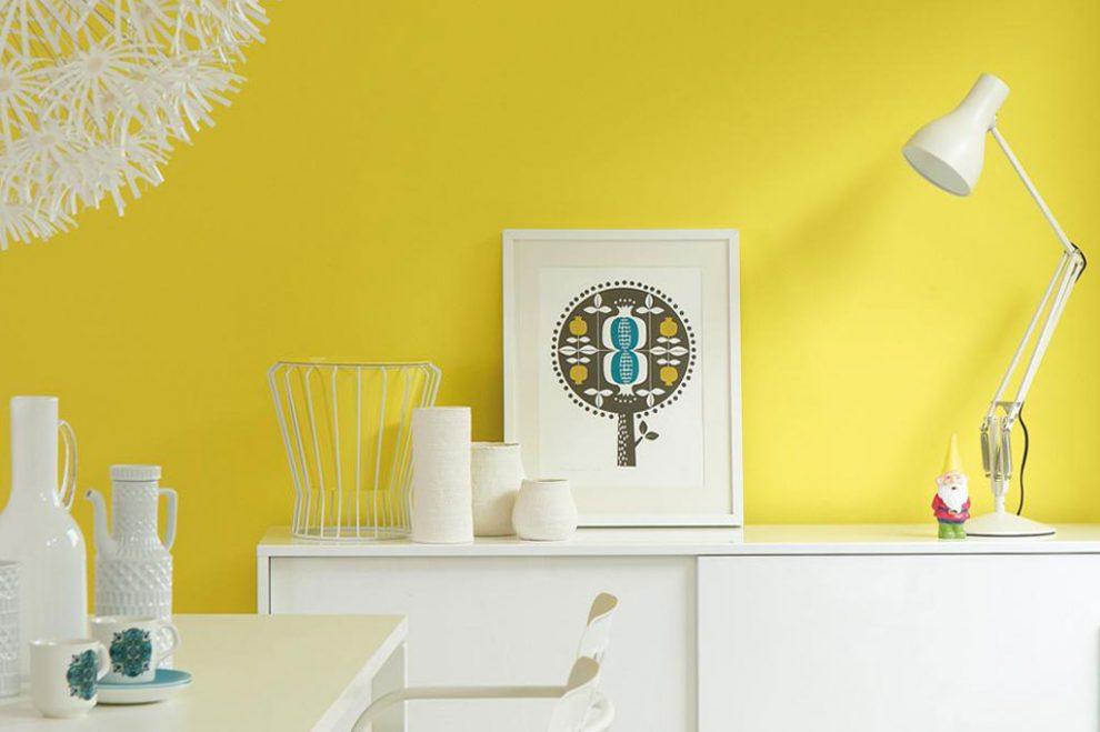 Cách phối sơn nhà màu Vàng đẹp & Ý nghĩa của màu vàng - Kiến Thức Sơn Nước