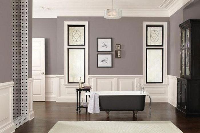 Cách phối sơn nhà màu Xám đẹp & Ý nghĩa của màu Xám - Kiến Thức Sơn Nước