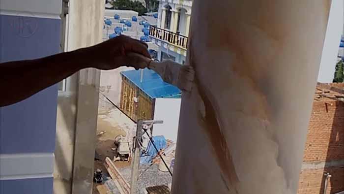Cách thi công sơn giả đá đẹp, độc đáo - Kiến Thức Sơn Nước