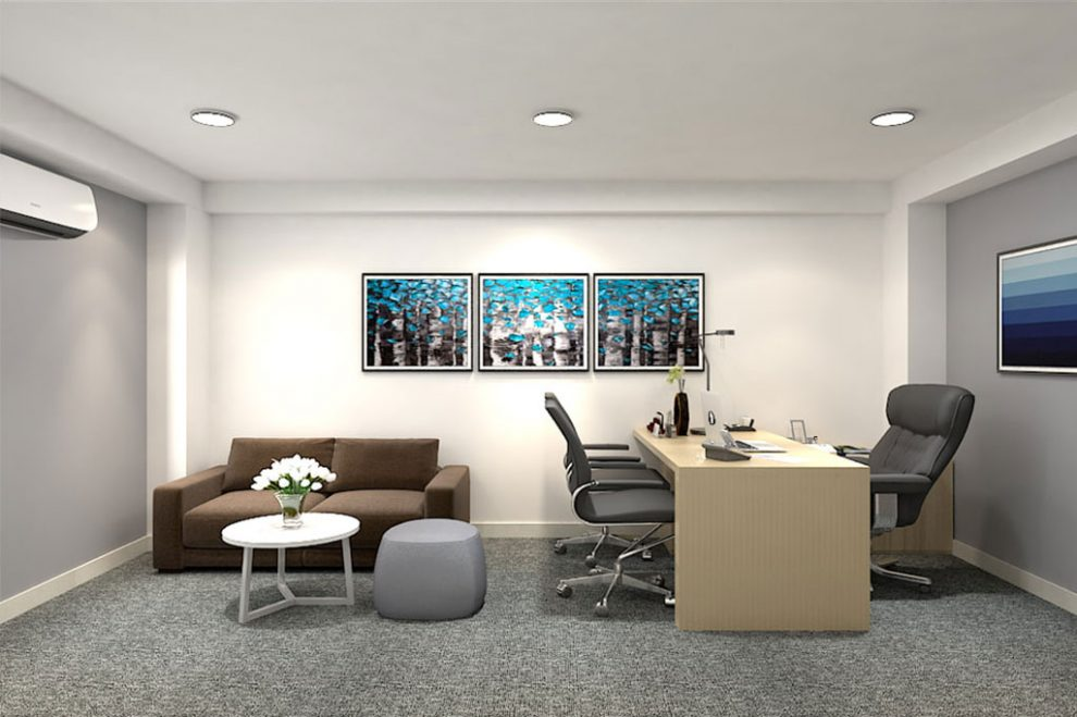 Màu sơn đẹp dành cho văn phòng - Kiến Thức Sơn Nước