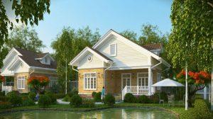 Xu hướng chọn màu sơn đẹp cho nhà vườn mới nhất - Kiến Thức Sơn Nước