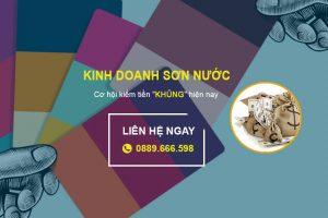 """Kinh doanh sơn nước - Cơ hội kiếm tiền """"KHỦNG"""" hiện nay - Kienthucsonnuoc.vn"""